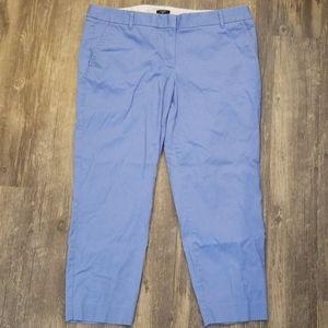 J.Crew Blue Khakis Capris